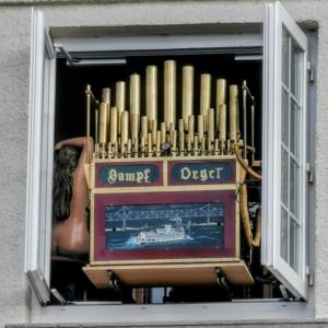 Dampforgel im Technik-Museum Speyer