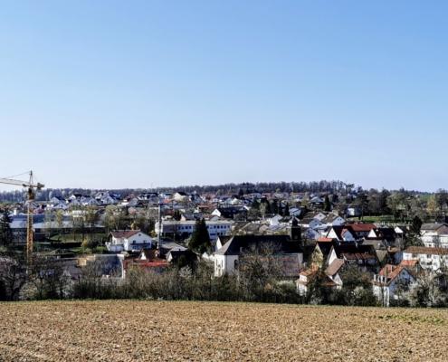 Ortszentrum Kirchardt Baustelle Katharinenstift